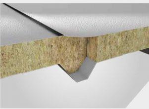 ساندویچ پانل سقفی 5 گام غشایی پشم سنگ 4