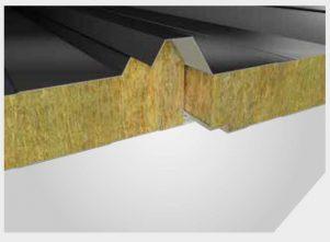 ساندویچ پانل سقفی 5 گام پشم سنگ 4